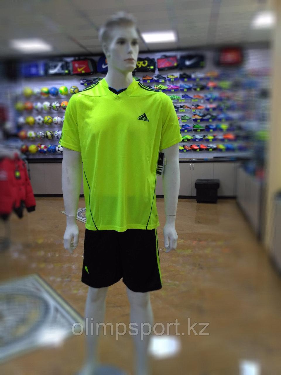 Футбольная форма Adidas 100, желтая