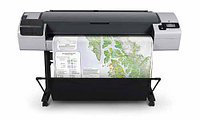 """Плоттер HP Designjet T795 44-in ePrinter (CR649C) (44""""/1118mm/A0+) 6 ink color, 2400x1200, 16Gb, 41m2/hr, sheet  roll feed, automatic cutter,"""
