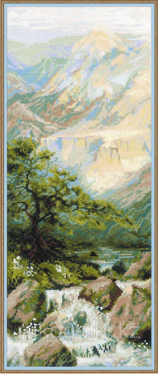 """Набор для вышивания крестом """"Горная река"""""""