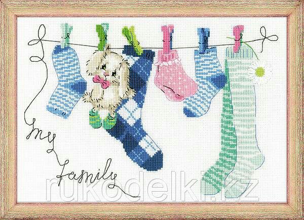 """Набор для вышивания крестом """"Моя семья"""""""
