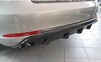 Диффузор на задний бампер Skoda Octavia A5FL