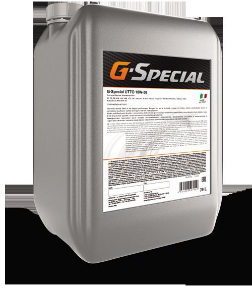 G-Special UTTO 10W-30  20л. – трансмиссионно-гидравлическое масло для спец.техники
