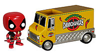 "Фигурка-башкотряс ""Marvel – Дэдпул с фургоном"" (#10 Marvel Deadpool Chimichanga Truck – Pop! Vinyl Figure)"