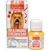 Празицид-суспензия Плюс для дегельминтизации взрослых собак 10мл (1мл/3кг)