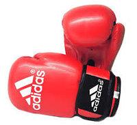Перчатки для бокса и кикбоксинга Adidas натуральная кожа