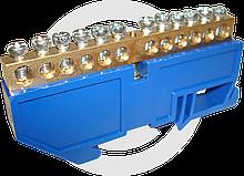 Шина нулевая на DIN рейку N 63.12 ЭКФ