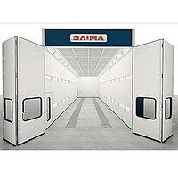 Покрасочная камера 15,6 х 5 х 5 м., 70 000 м3/ч Saima (Италия) арт. Grand Size