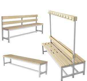 Скамейки для раздевалок