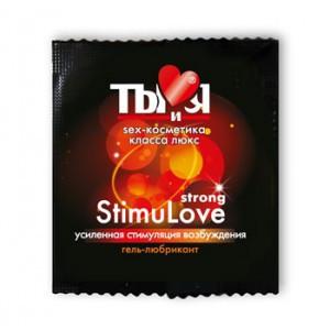 Гель-любрикант «StimuLove Strong» для усиленной стимуляции возбуждения 4гр