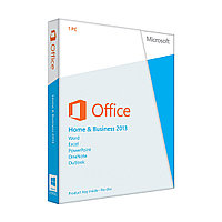 Программное обеспечение Microsoft Office Home and Business 2013