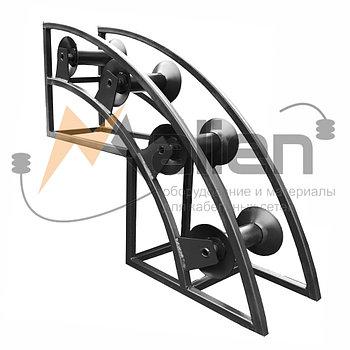 РКУ 4-150 Ролик кабельный угловой направляющий МАЛИЕН