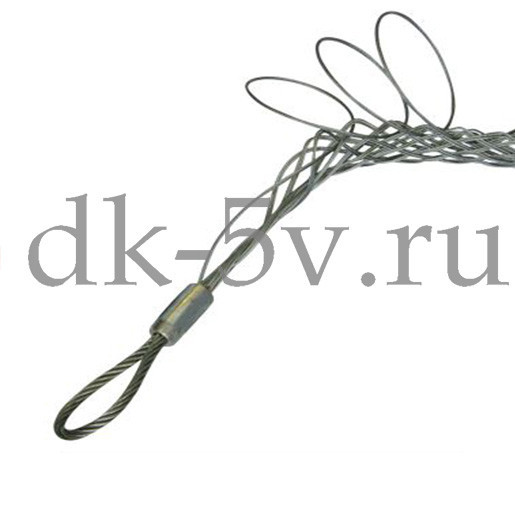 Разъемный (проходной) кабельный чулок КЧР30/1,⌀20-30мм, L=900мм, 1 петл