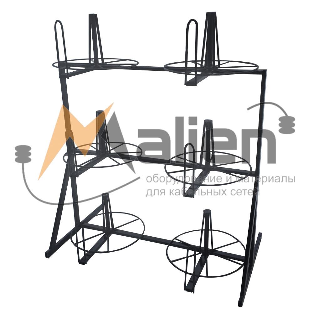 СБР 6-0,7-50 Стеллаж для хранения и размотки бухт кабеля