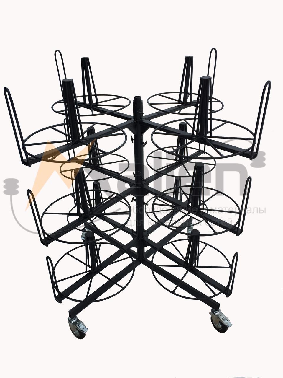 СБР 12-0,7-50 Стеллаж для хранения и размотки бухт кабеля