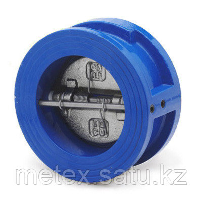 Обратный клапан двустворчатый межфланцевый DN450 pn10