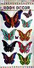 """Набор наклеек """"Бабочки"""" 5D, цветные, 9шт."""