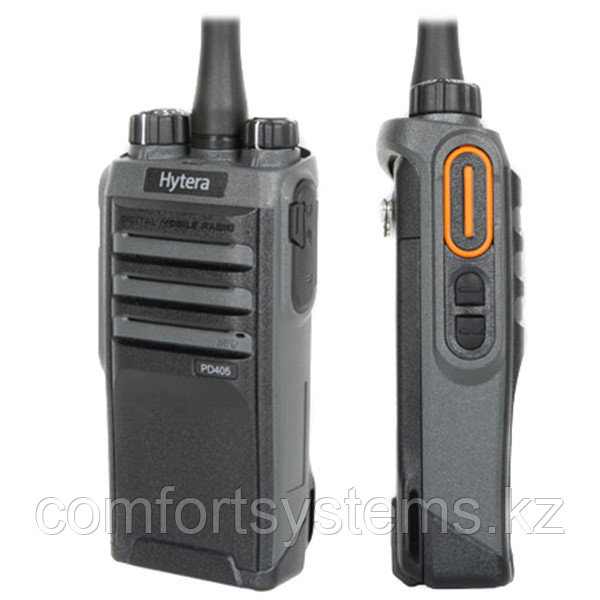 Радиостанция HYTERA PD-405 136-174МГц, 32кан., 5Вт, DMR/Analogue, Li-ion 1500 мАч,  з/у