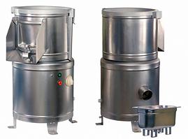 Картофелечистка МОК-150У (500x480x800мм, 150кг/ч, загрузка 7 кг, 0,51кВт, 380В)
