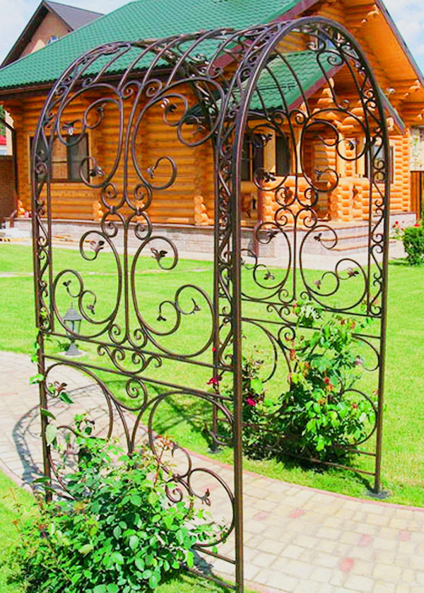 Арки садовые металлические
