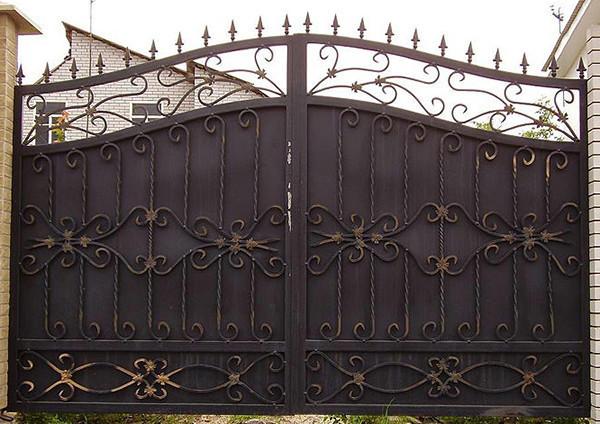 Изготовление железных ворот