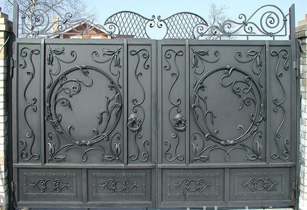 Простейшие откатные ворота