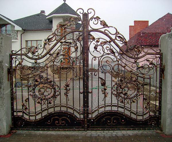 Ворота раздвижные откатные