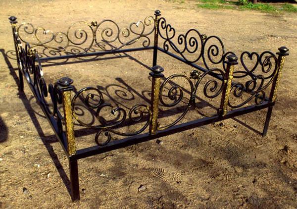 Красивые кованые ограды