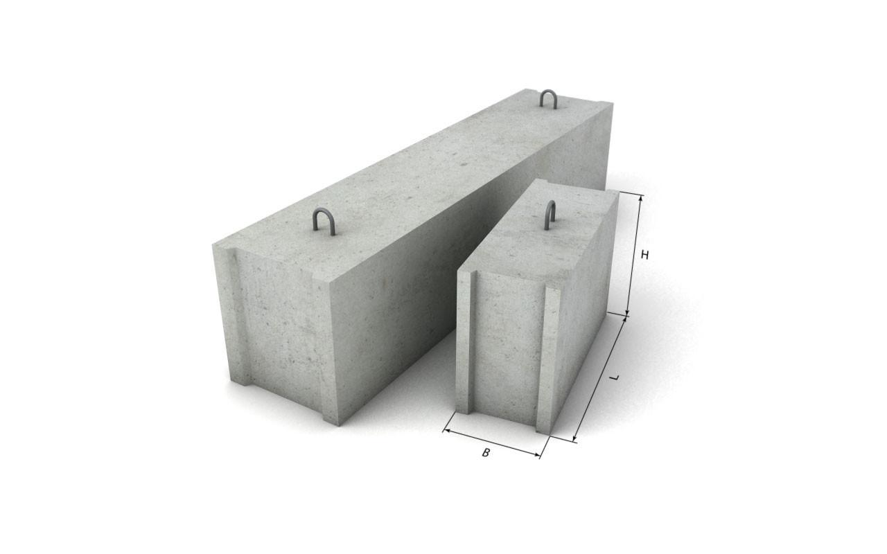 Фундаментный блок ФБС 24-6-3