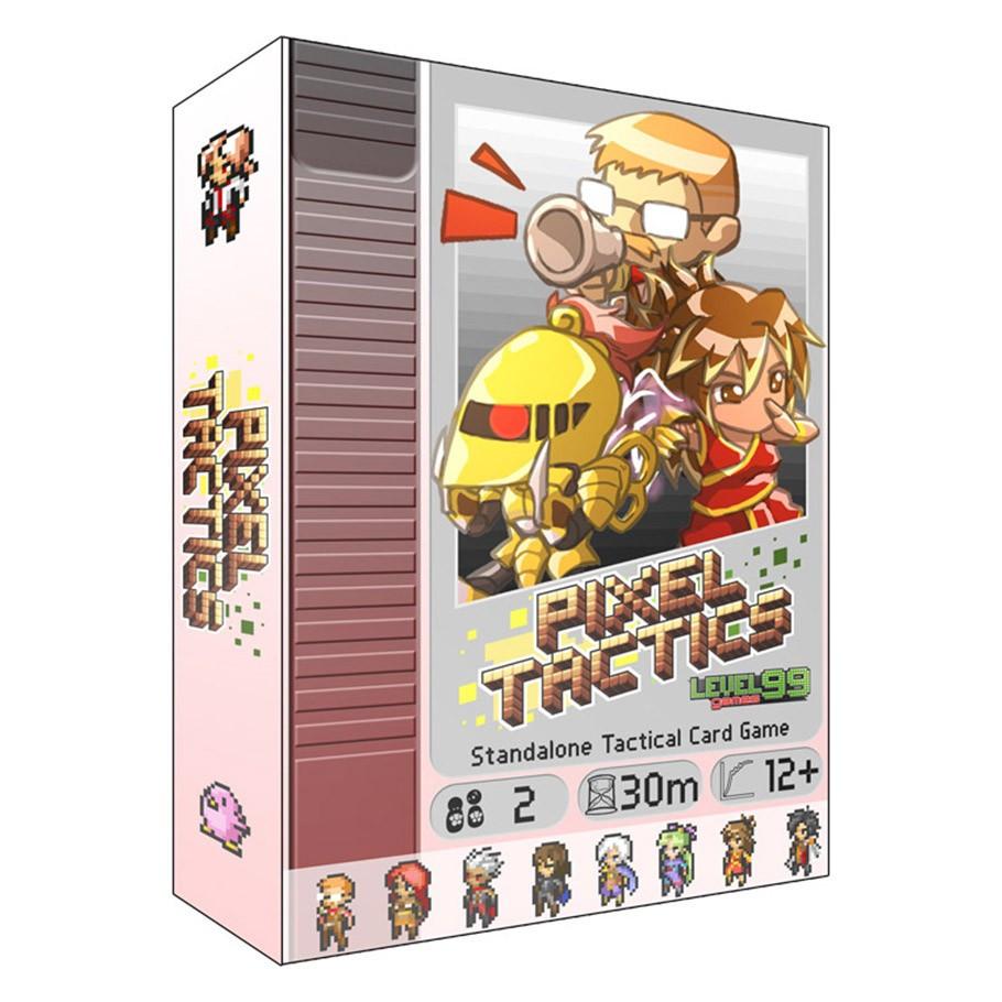Настольная игра Пиксель Тактикс (Pixel Tactics) (вторая редакция)
