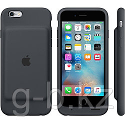 Чехол для iPhone 6s Smart Battery Case - Charcoal Gray