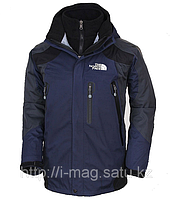 Куртка The North Face FLS  . The North Face, XL, Темно-синий