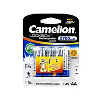 Аккумулятор CAMELION Lockbox Rechargeable NH-AA2700LBP4