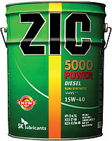 ZIC 5000  POWER CI-4 15W40 полусинтетика