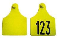 Бирка двойная для КРС, Неофлекс , с номерами 65х55мм