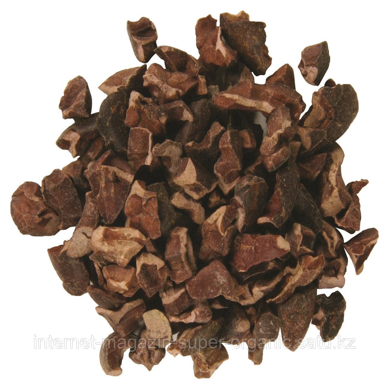 Органические ядра какао-бобов, 16 унций (453 г), Frontier Natural Products