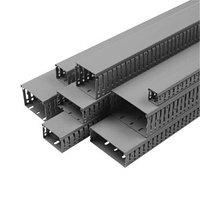 Перфорированный кабельный канал ОНКА, шаг перфорации 4/6 мм, длина 2м, размер 80х80 в упаковке 20 м.