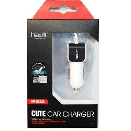 Автомобильное зарядное устройство HAVIT Lightning, фото 2