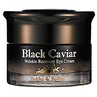 Black Caviar Anti-Wrinkle Eye Cream [Holika Holika]