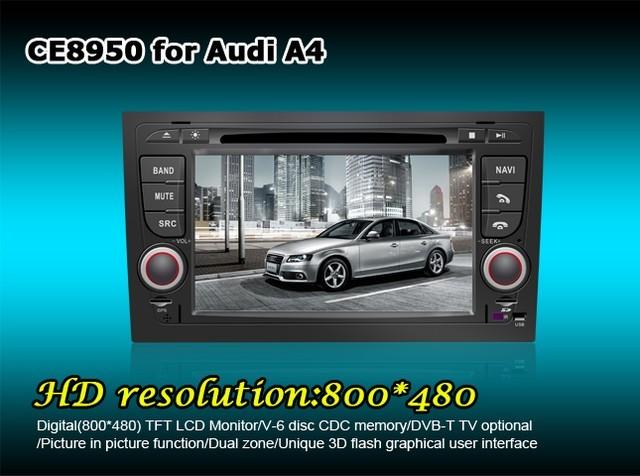 Штатное головное устройство Audi A4 2007 «WINCA»