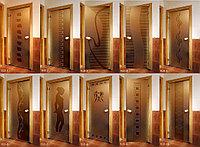 Дверь для саун Harvia TLD-4 8x19