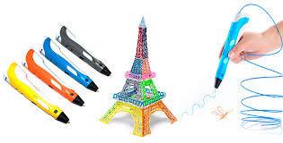 3D ручка (3D pen) - лучший подарок для развития