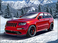 Насколько крут JEEP Grand Cherokee SRT 8? 🔥Видео-обзор