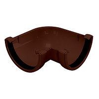 Угол желоба 90° , универсальный, коричневый, Holzplast, фото 1
