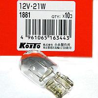Авто лампа Koito 1881 W21W, фото 1