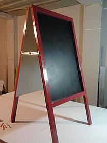 Доска графитовая, черная матовая, не магнитная, меловая