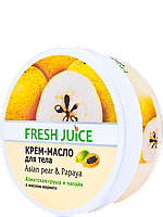 Крем-масло для тела Asian pear & Papaya