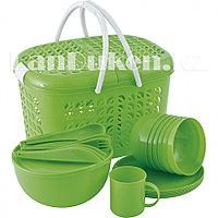 Туристический набор посуды на 6 персоны 38 предмет PALISAD CAMPING 69517 (002)