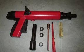 Пистолет монтажный поршневой ПЦ-08 красный (Россия)