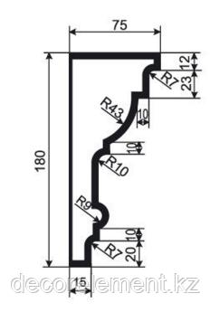 Карниз из пенополистирола К 180\1, фото 2