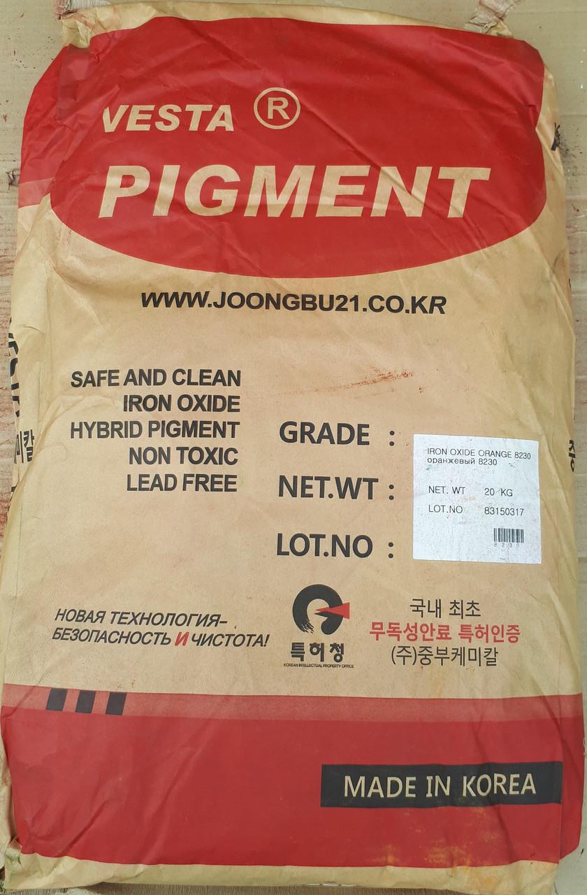 Оранжевый железооксидный пигмент 8230
